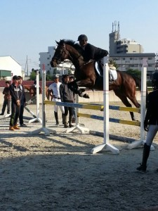 HP素材乗馬